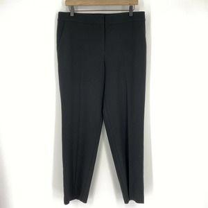 St John Caviar Pants High Waist Straight